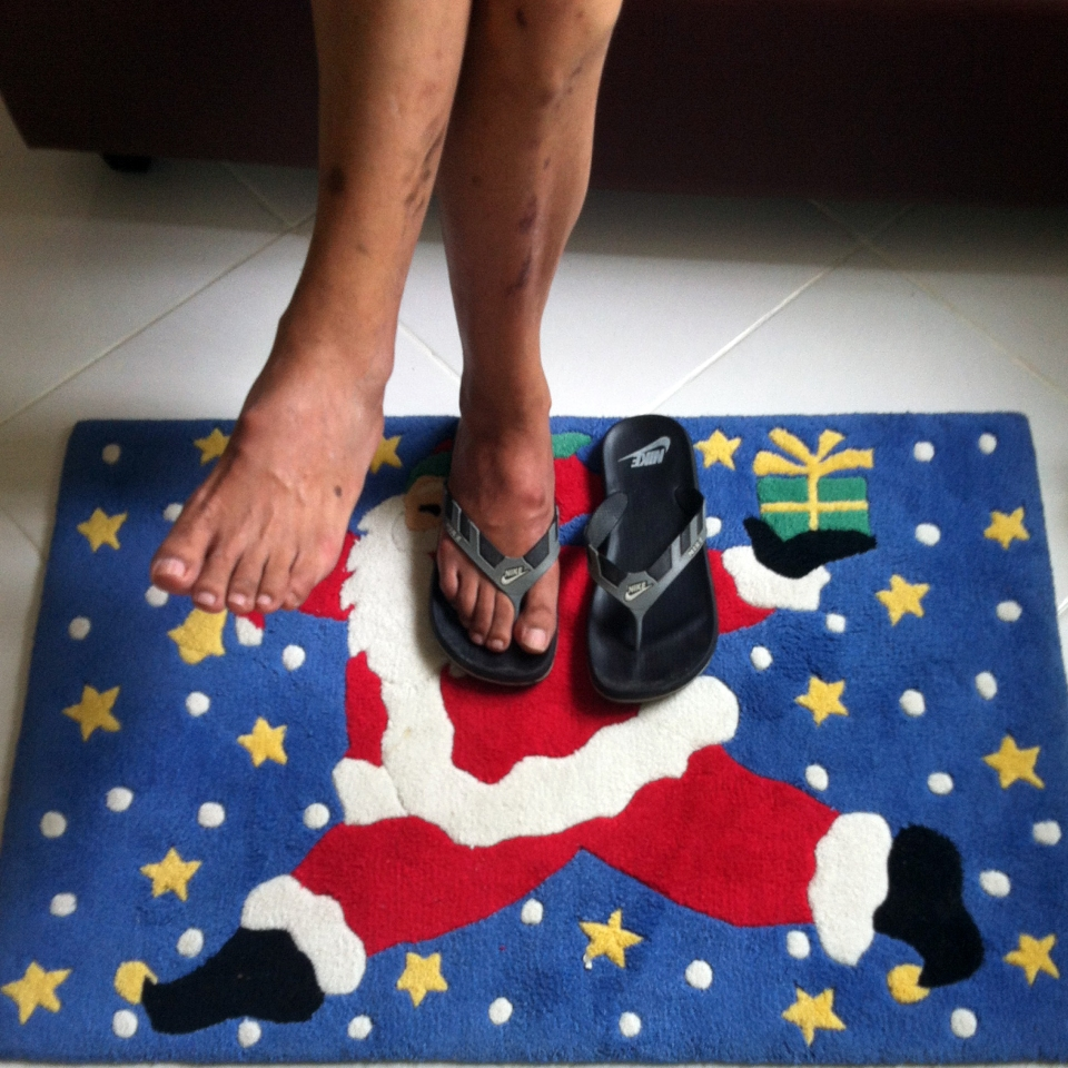 Santa Claus mat