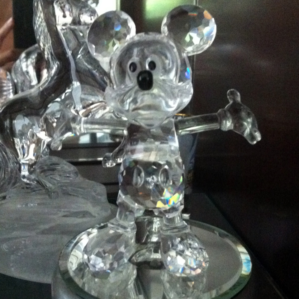 Crystal Mickey Mouse