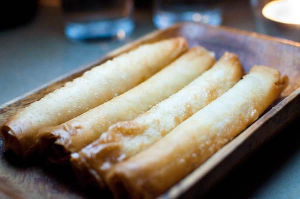 """You had me at """"cigar shaped pastry filled with  haloumi, feta and kaseri"""" (Sigara Boregi"""