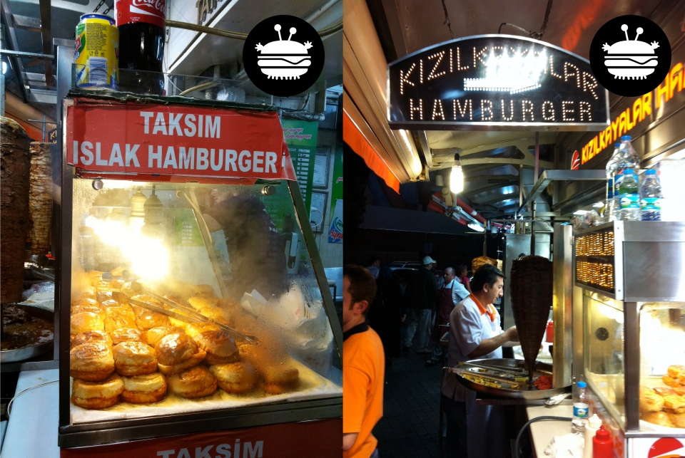 Two places beside each other in Taksim Square