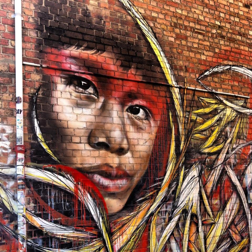 Person of colour graffiti 01