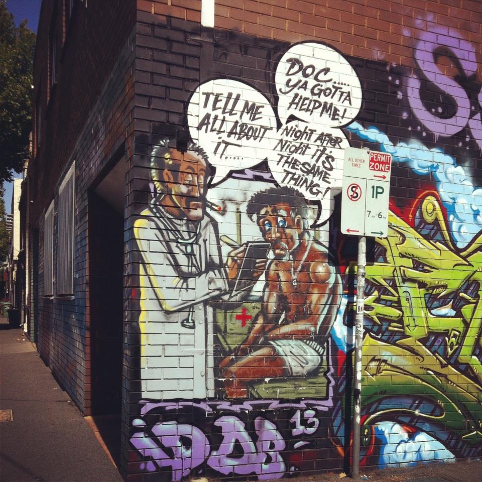 Person of colour graffiti 02